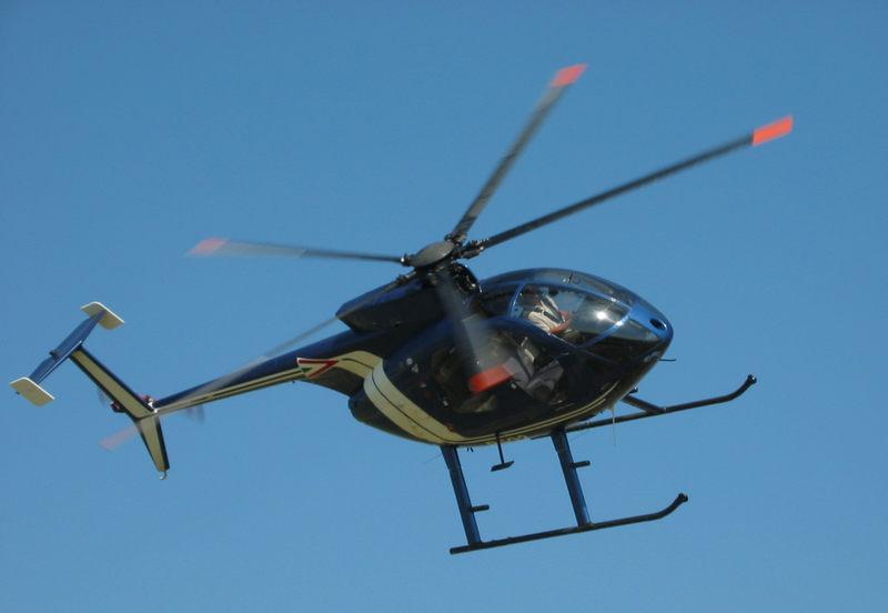 Hubschrauber...