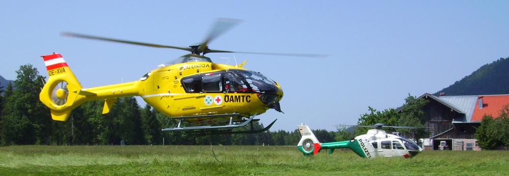 Hubschrauber C4 & Polizei
