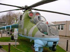 Hubschrauber der Grenztruppen NVA