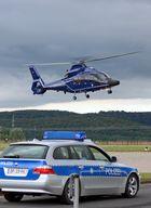 Hubschrauber EC 155 der Bundespolizei