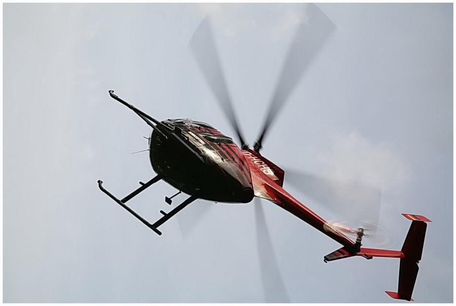 Hubschrauber im Einsatz