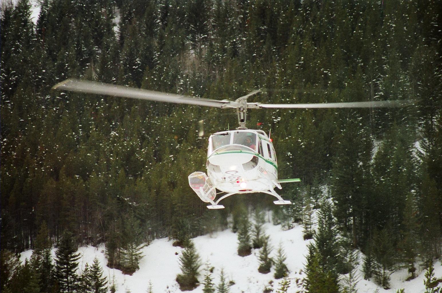 Hubschrauber in Canada