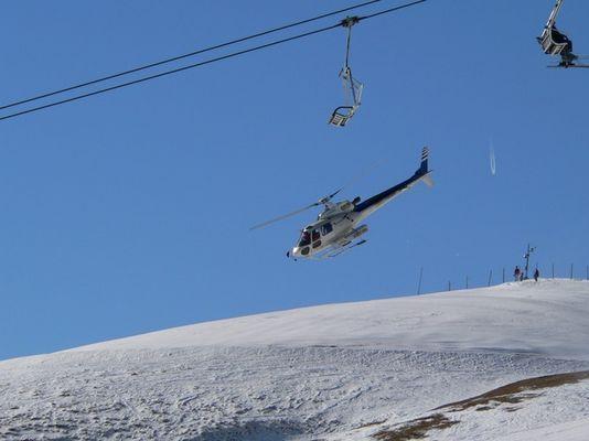 Hubschraubereinsatz - Keine Gefahr!