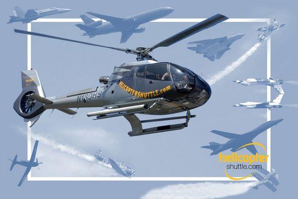 Hubschraubershuttle