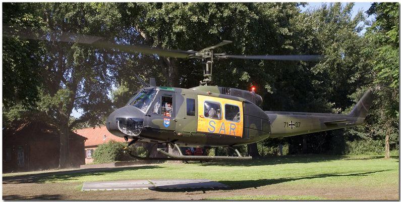 Hubschrauberstart 1
