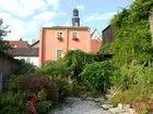 Hübscher Hinterhof in Mühlhausen in Thüringen