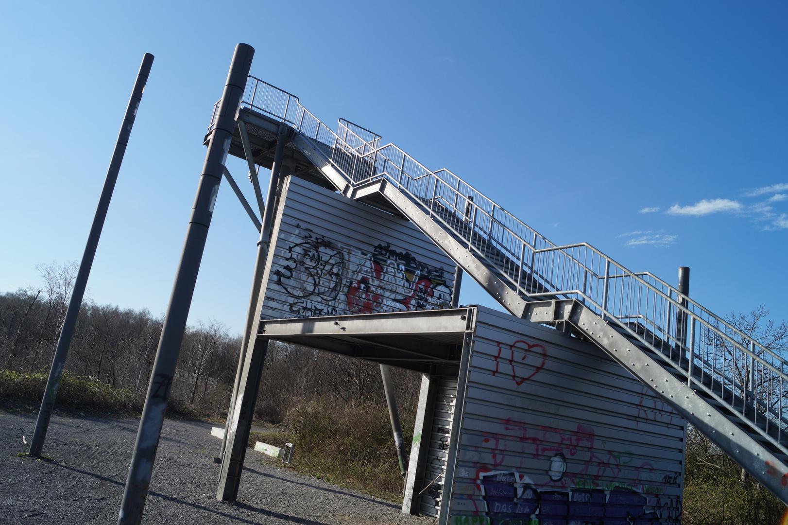 Hückelhoven: Himmelsleiter Aussichtsplatform