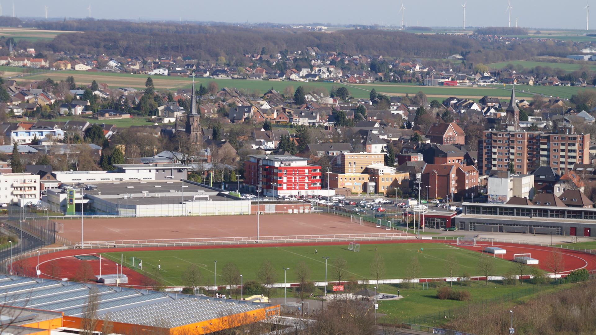 Hückelhoven Sportplatz