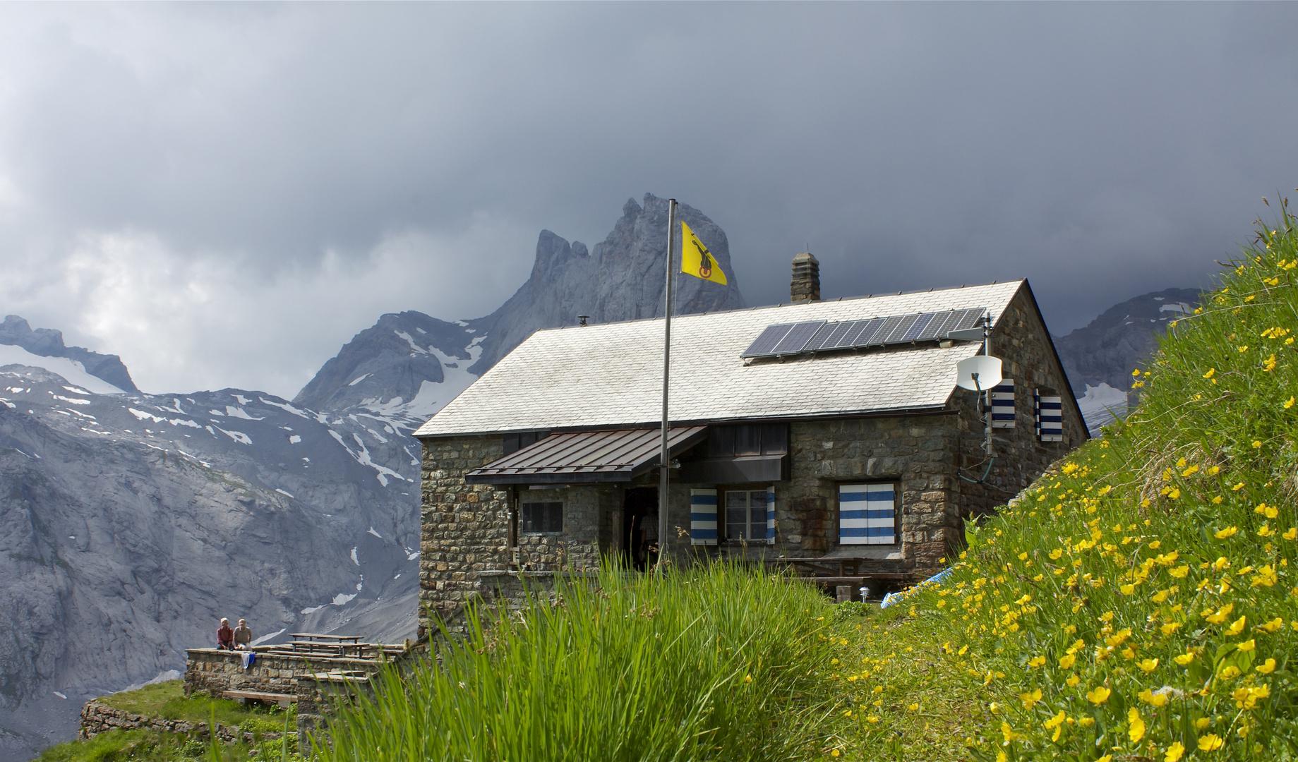 Hüfihütte , Maderanertal