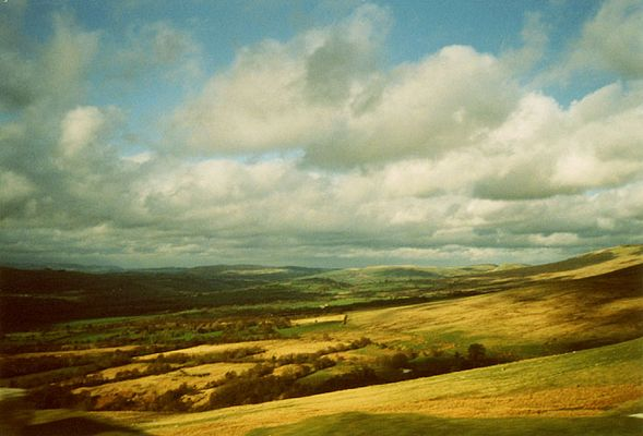 Hügel in Wales