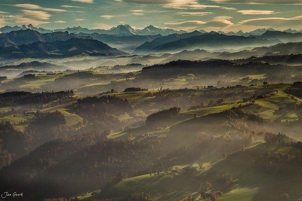 Hügel und Berge