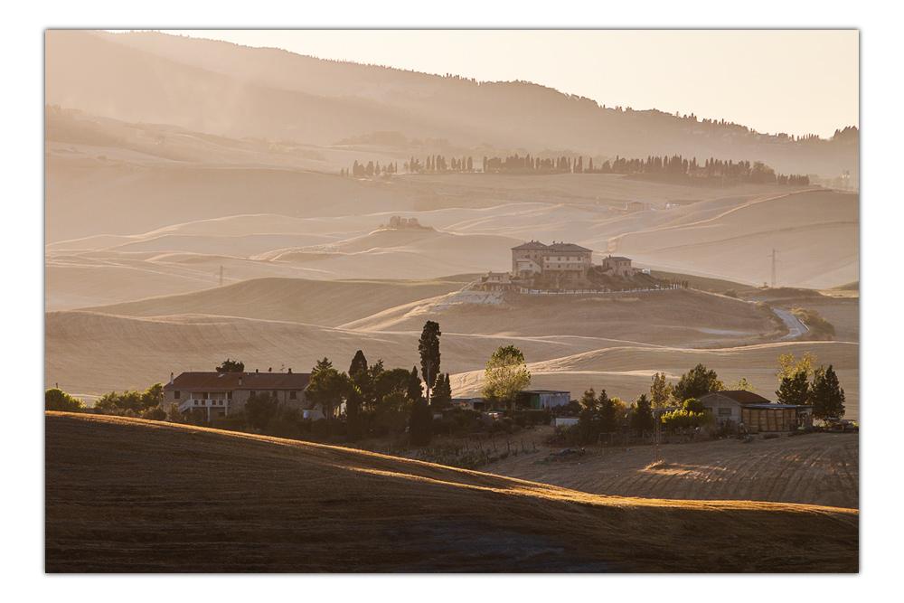 Hügellandschaft vor Volterra