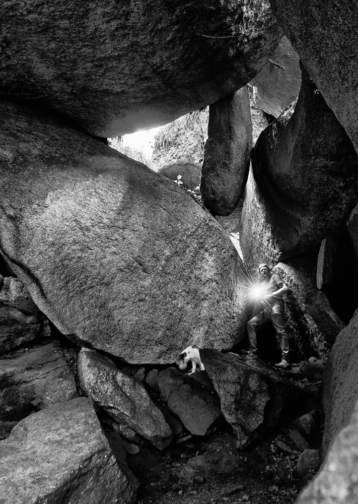 Huelgoat - Grotte von König Artus - Bretagne