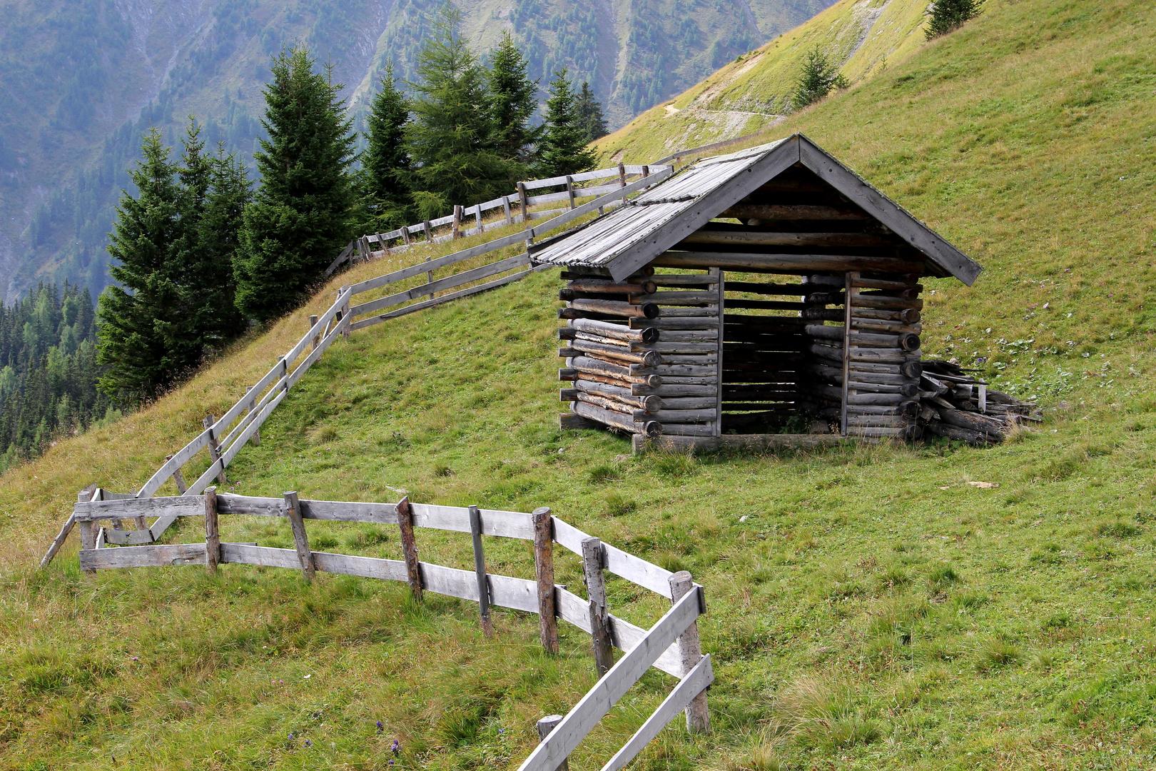 Hütte bei Serfaus