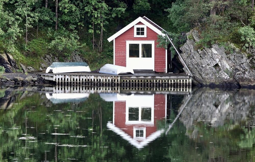 h tte in norwegen foto bild europe scandinavia. Black Bedroom Furniture Sets. Home Design Ideas