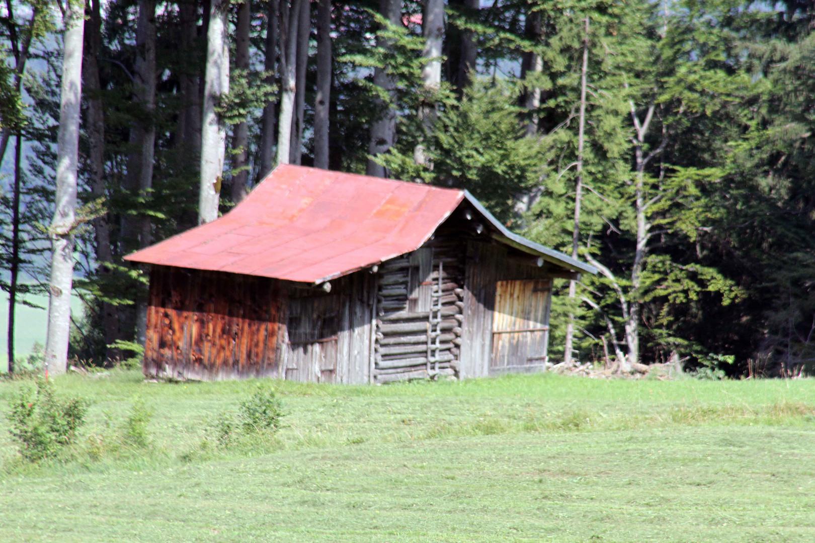 Hütte in Oberstdorf