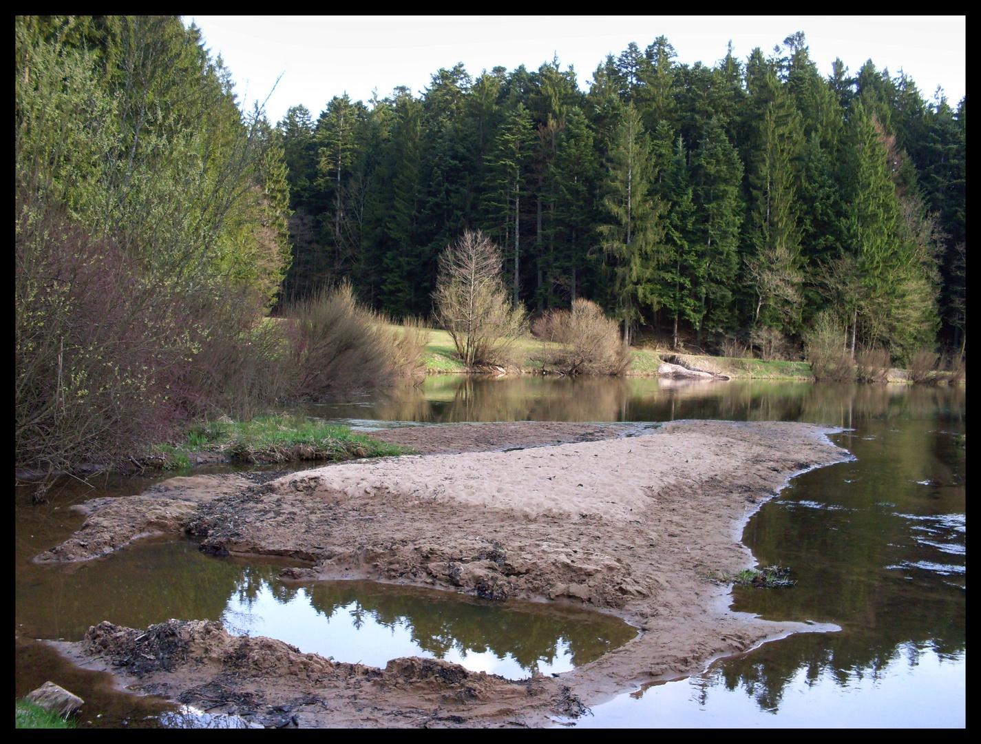 Hüttenbühlsee am 03.April