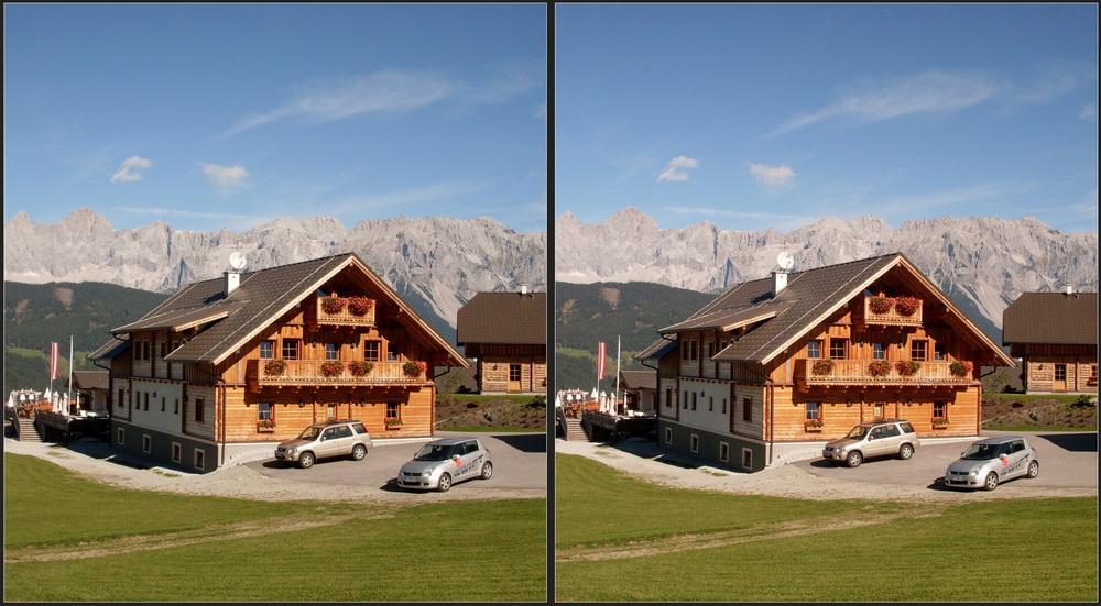 Hüttendorf auf 1200m 3D III