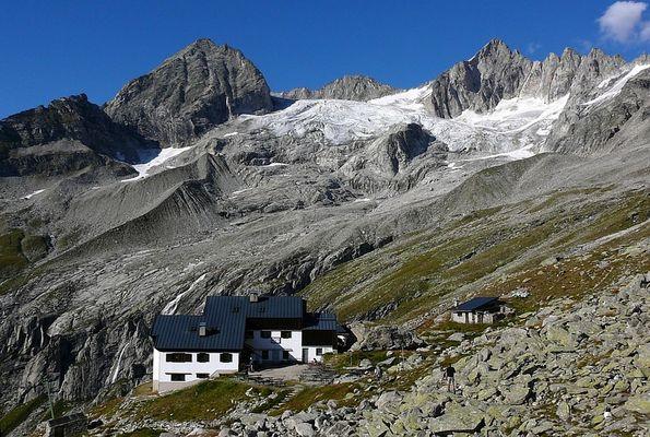 Hüttentour 2009 - Hütte in Sicht
