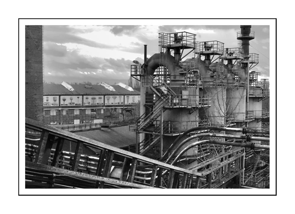 Hüttenwerk Duisburg 2- Rhein-Ruhr / haut furneau
