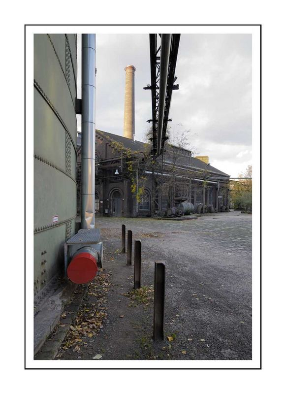 Hüttenwerk Duisburg E - haut-fourneau Rhein-Ruhr