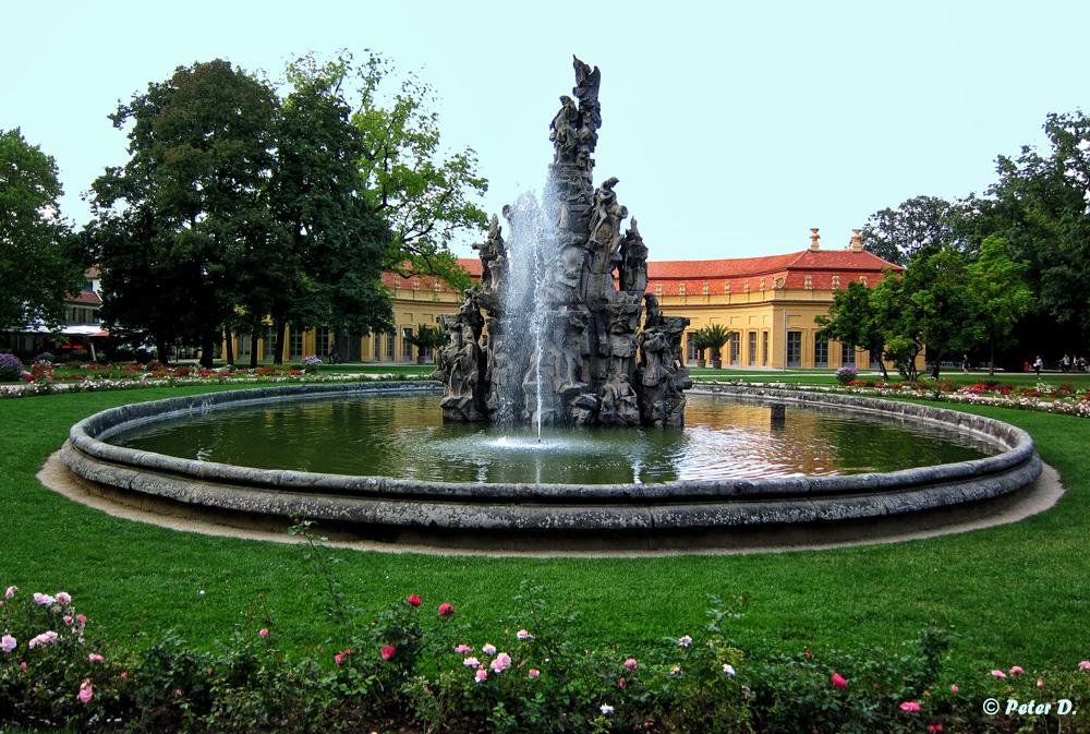 Hugenottenbrunnen Erlangen