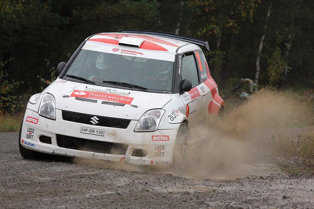 Hugo Arellano @ Lausitz Rallye