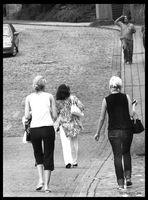 hui..drei schöne Frauen..schnell noch mal kämmen;-)