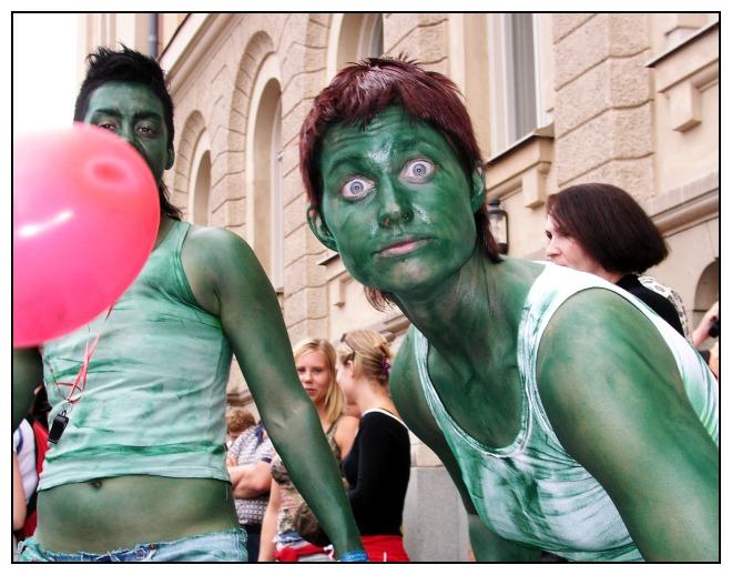 Hulk's girlfriend?