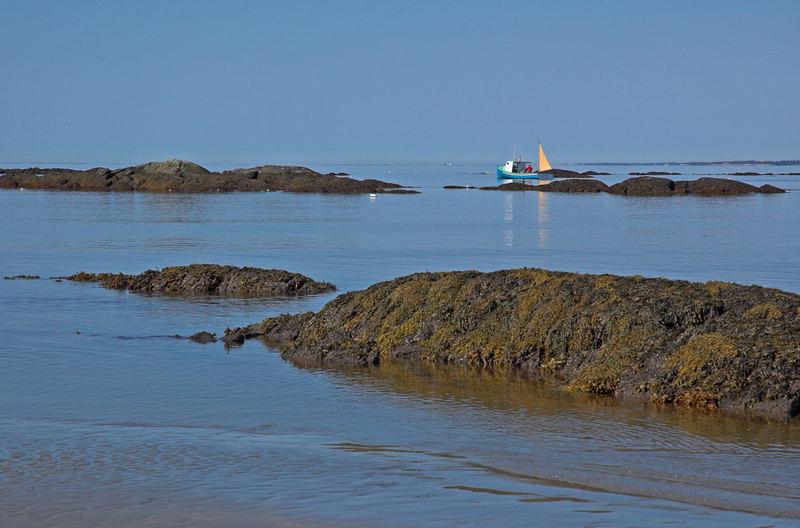 Hummerfischer am Crescend Beach, Nova Sctia