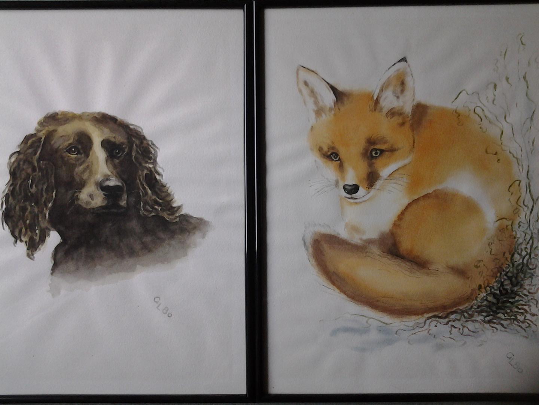 Hund und Fuchs