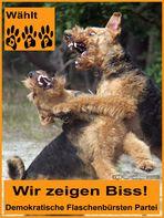 Hunde an die Macht