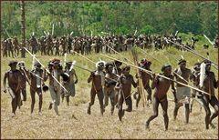 Hunderte Dani & Lani Krieger-West Papua