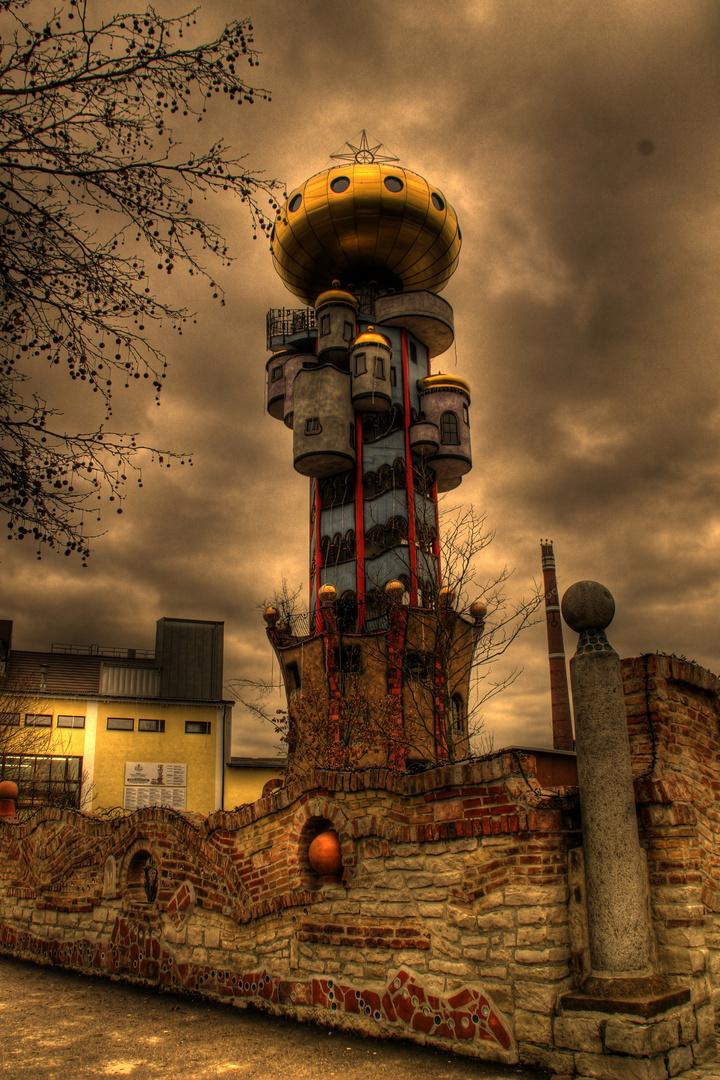 Hundertwasser in Abensberg (HDR)