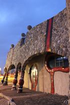Hundertwasser Markthalle in Staad (Schweiz)