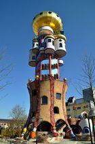 Hundertwasser - Turm in Abensberg 01