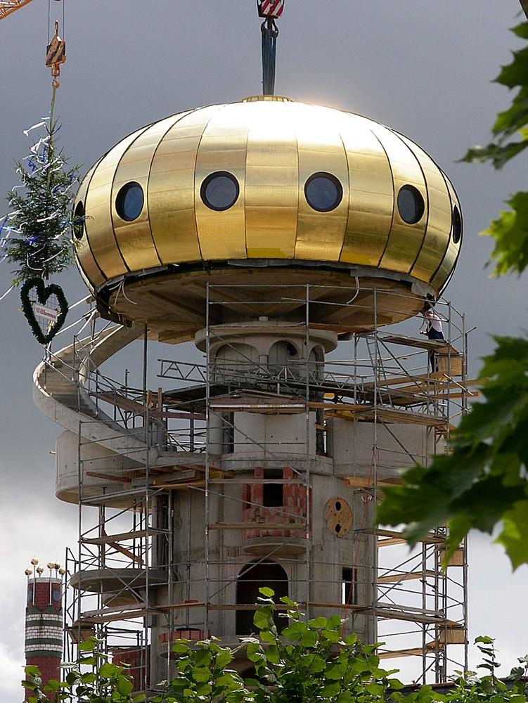 Hundertwasser-Turm in Abensberg