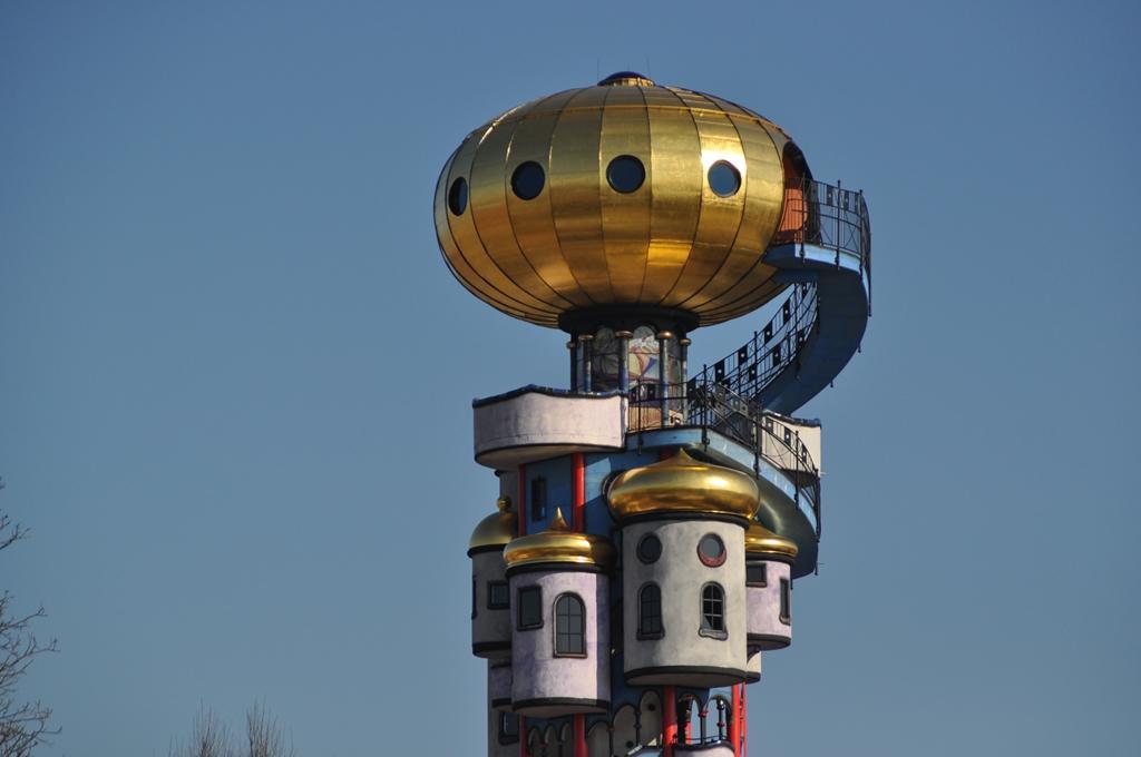 Hundertwasser - Turm in Abensberg