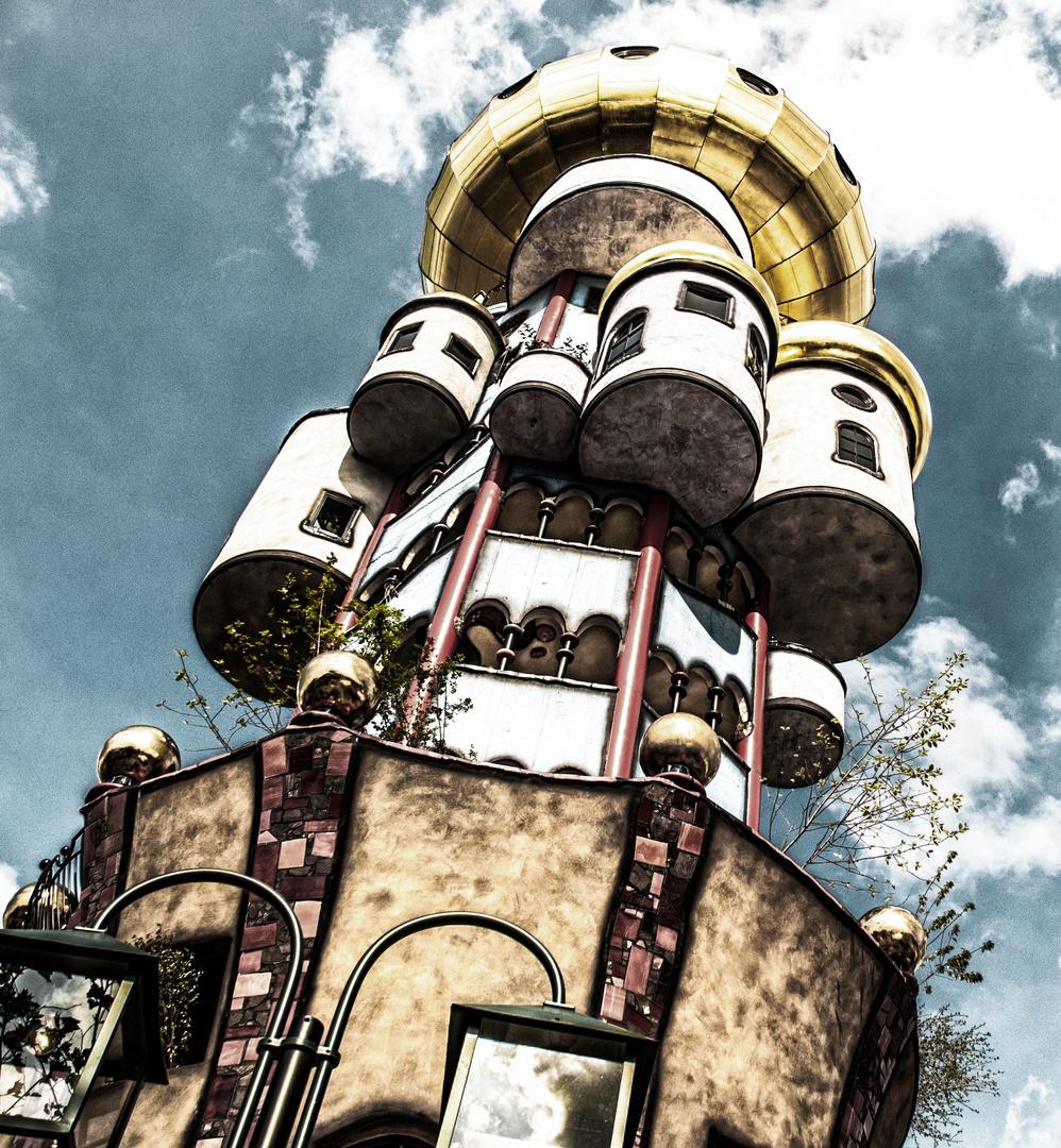 Hundertwasser Turm Variation