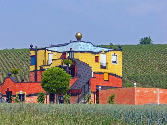 Hundertwasser Weinlandschaft