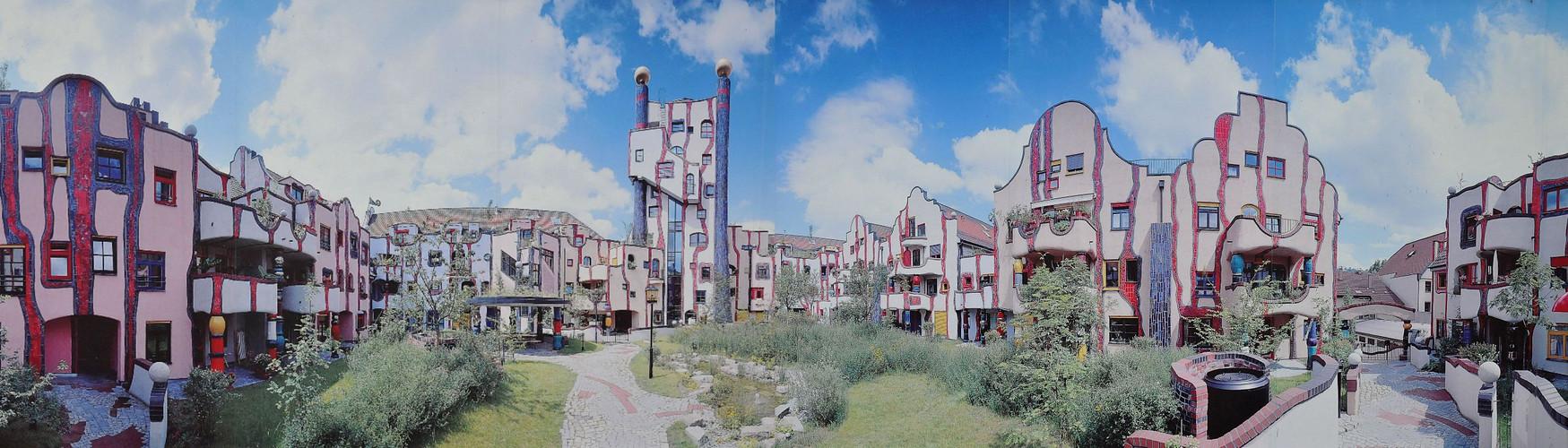 Hundertwasser-Wohnhaus-Plochingen