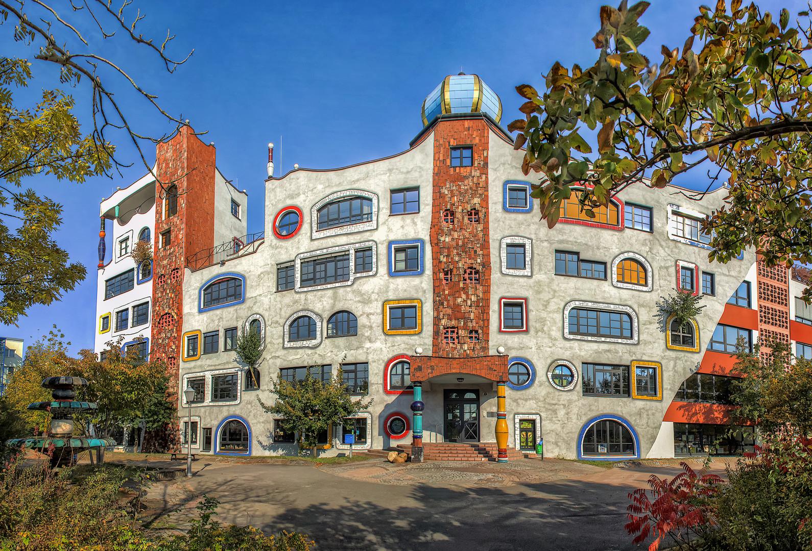 Hundertwassergymnasium in Wittenberg #2