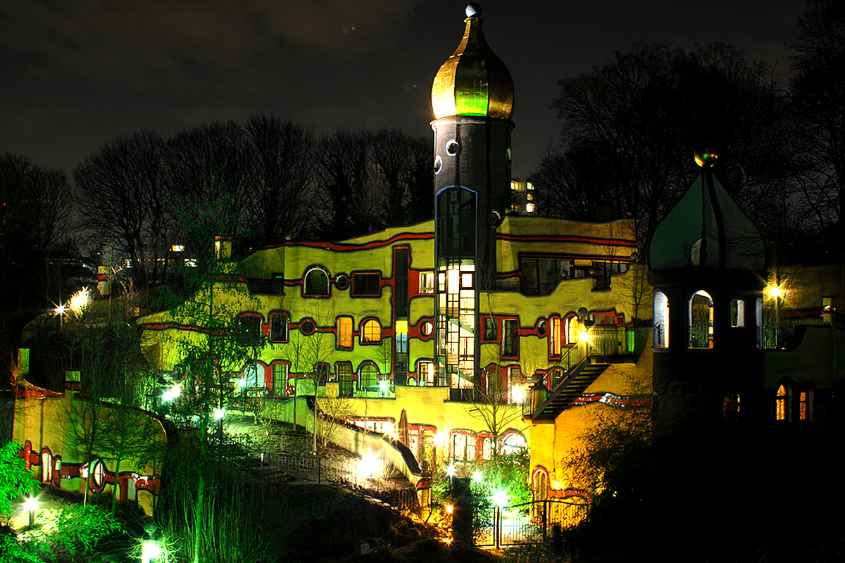 Hundertwasserhaus Gruga Essen 02/2013