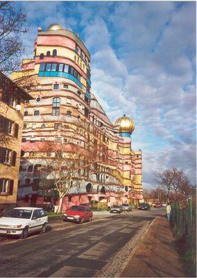 Hundertwasserhaus in Darmstadt