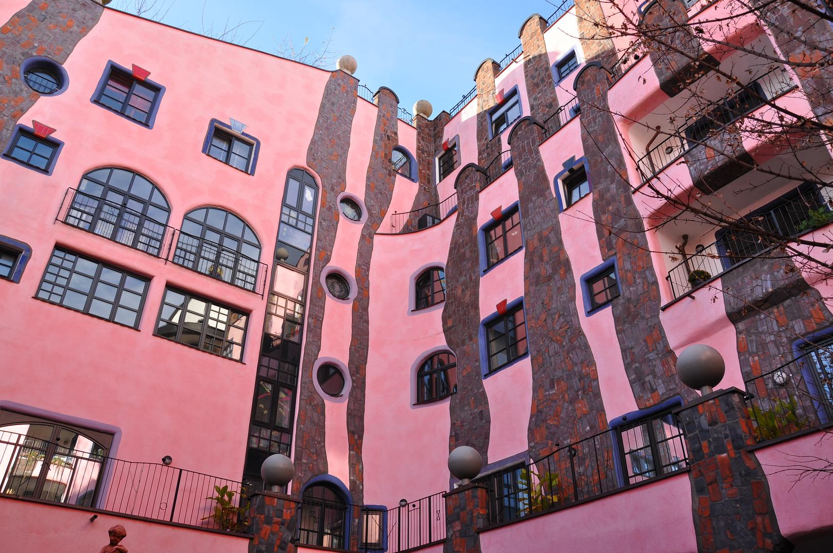 Hundertwasserhaus in Magdeburg