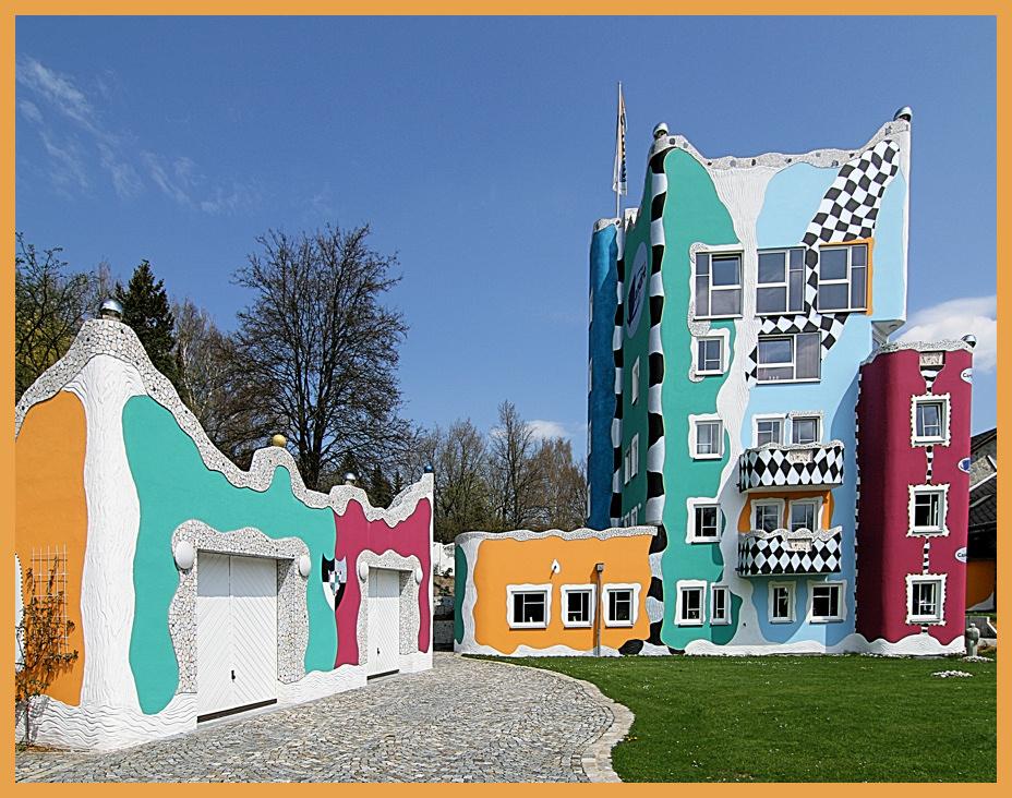 Hundertwasserhaus in Selb