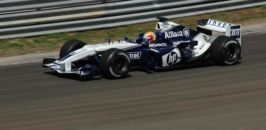 Hungaroring - Montoya in 4.Position