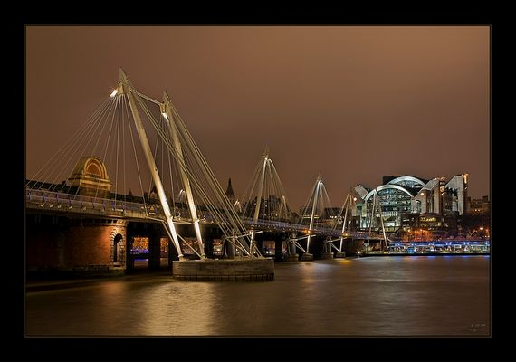 Hungerford Bridge - London