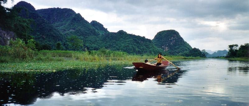 Huong Son Landscape