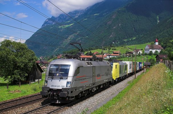Hupac Taurus am Gotthard